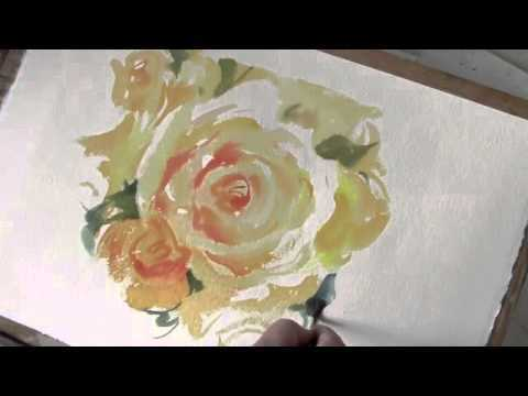 Trevor Waugh: Painting Roses In Watercolor