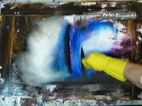 Peter Dranitsin: How To Paint Abstract Art