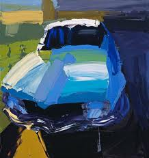One of many paintings of a Torana by Quilty