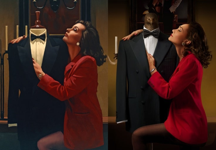 When Fashion Meets Art – Stefano Ricci Tribute To Jack Vettriano