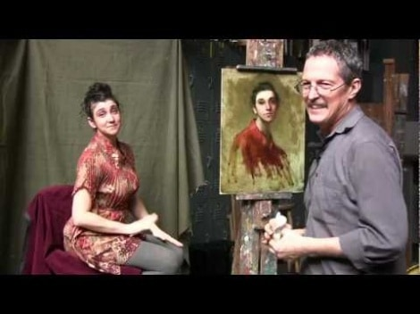 Gregg Kreutz: A Demonstration In Painting From Life