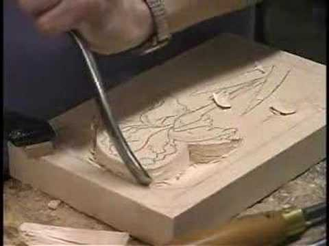 Spirit Williams How To Carve A Flower Into Bass Wood